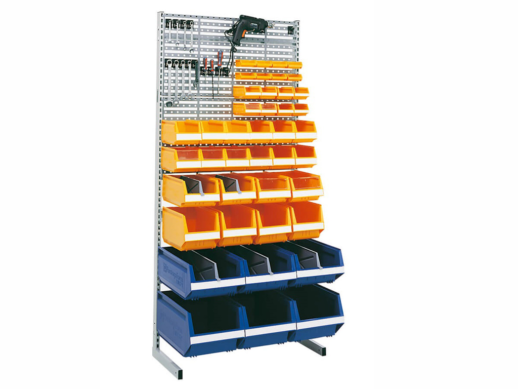 Arca lagerkasser - Plastboksstativ