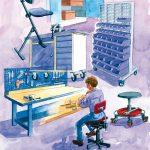 Værkstedsindretning