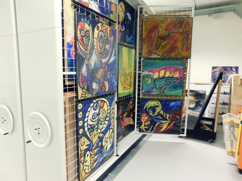 Magasinindretning CHPEA Museum